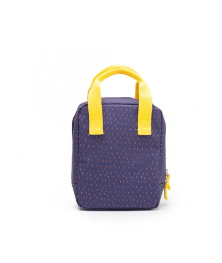 Insulated Lunch Bag - blue