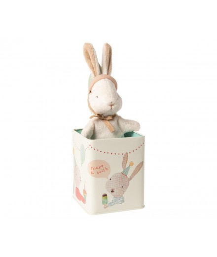 HAPPY DAY BUNNY IN BOX SMALL