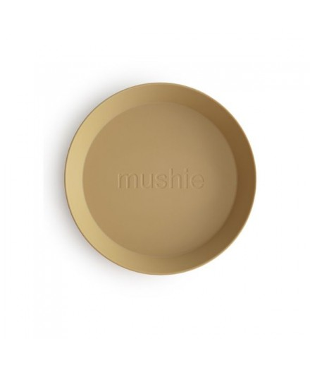 DINNERWARE PLATE MUSTARD (SET OF 2)