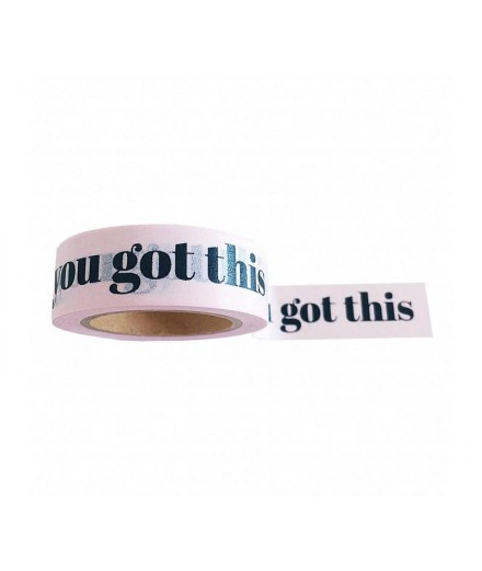 Washi tape You got this