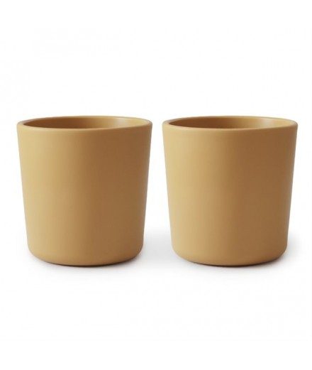 DINNERWARE CUP MUSTARD (SET OF 2)