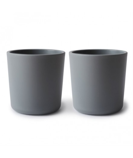 DINNERWARE CUP SMOKE (SET OF 2)