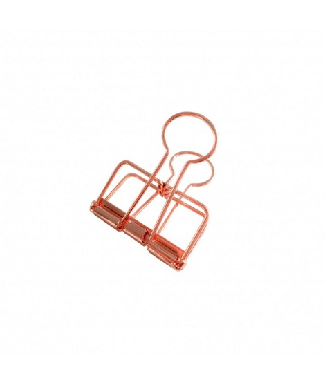 Binder clips Copper M