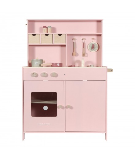 WOODEN KITCHEN - PINK