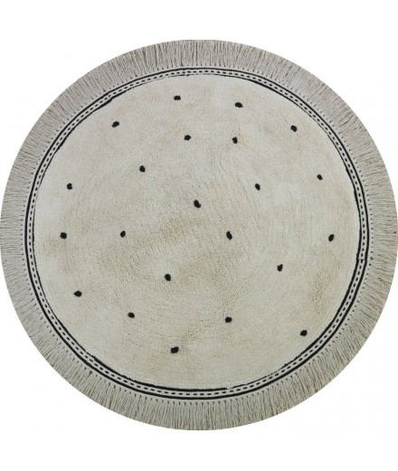 WASHABLE RUG ANNA DOTS CREAM