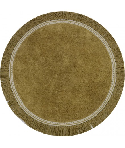 WASHABLE RUG ANNA OCHER