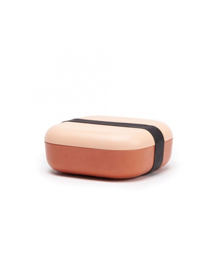 Bamboo Snack Box blush/terracotta