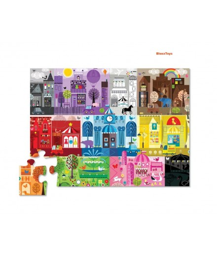 PUZZLE 24 PCS - CAN YOU FIND COLOR CITY