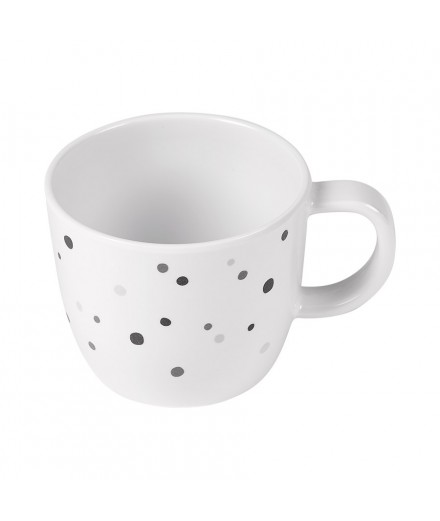 CUP DREAMY DOTS GREY