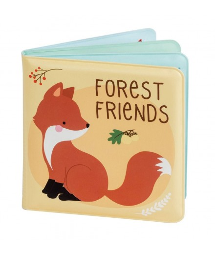 BATH BOOK - FOREST FRIENDS