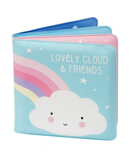 BATH BOOK - CLOUD & FRIENDS