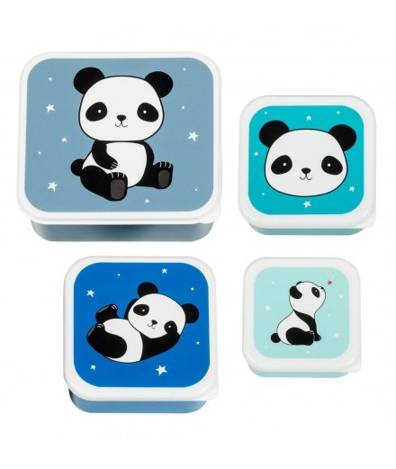 PANDA SNACK BOX SET