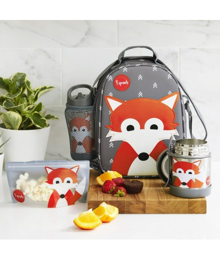 LITTERLESS LUNCH SET FOX - 7 PCS