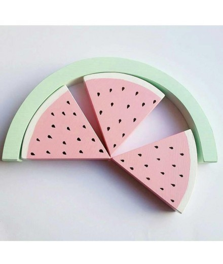Watermelon Wooden Rainbow