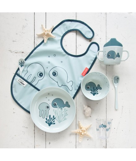 BIB SEA FRIENDS BLUE