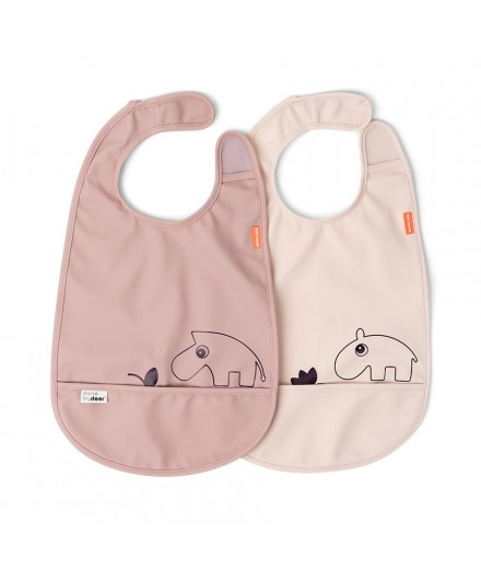 BIB 2-PACK DEER FRIENDS POWDER