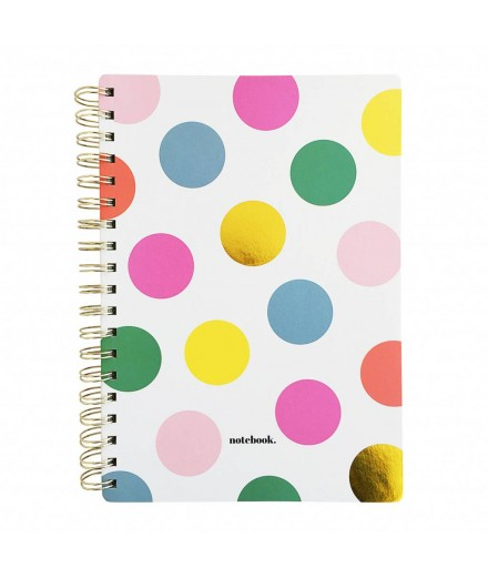 Notebook Happy dots